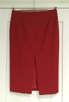 Definitions Red Pencil Skirt Size 14