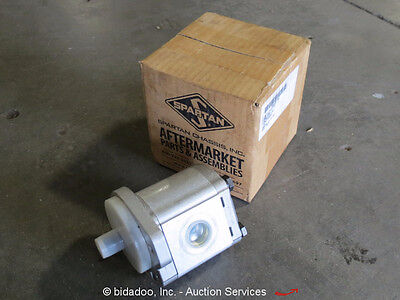 Lot (2) Casappa Hydraulic Pump PLP20.16BO-07S1-LOD/OD-V-EL-D 1800-KK1-001 - NEW