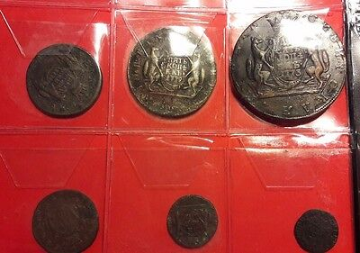 IMPERIAL RUSSIA siberian COINS LOT