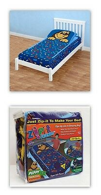As Seen on TV  ZipIt Friends Puppy Kids Bedding by Zip It Friends, Twin Size