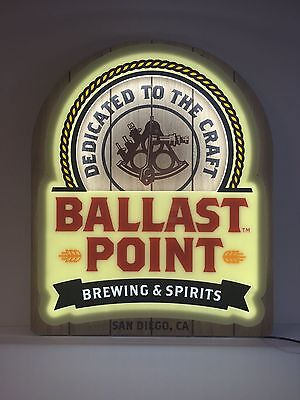 """BALLAST POINT BREWING & SPIRITS LED SIGN ~ NEW In Box  ~ 24"""" x 20"""" ~ Must Have"""