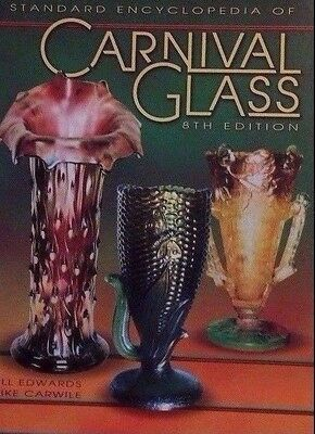 Vintage Carnival Glass Encyclopedia Value Guide Collector's Book