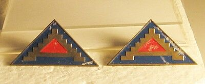 Wwii Pair 7Th Army Di's German Made
