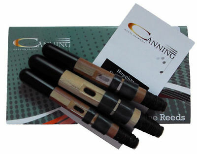 Canning Drone Reeds set for pipes highland bagpipe 2 tenor and Carbon Fibre Bass