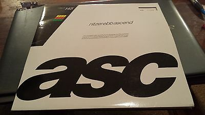 """NITZER EBB - ASCEND   2 x 10"""" limited numbered  No. 10151  MUTE"""
