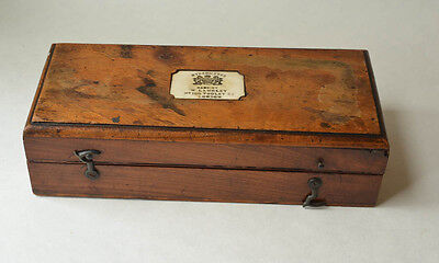 Antique Hydrometer in Beautiful Wooden Case all Original Langley English Set
