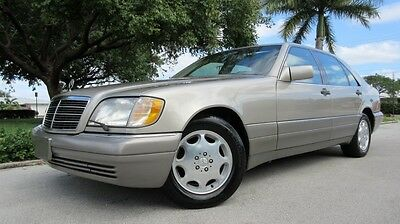 1995 Mercedes-Benz S-Class 4Dr 1995 MERCEDES S500 IN AMAZING CONDITION INSIDE & OUT, JUST FULLY SERVICED, NICE!