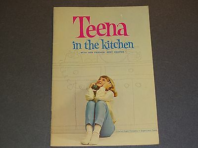 Teena in the Kitchen Imperial Sugar 1964 Recipe Booklet