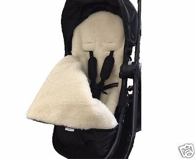 GOOSEBERRY FOOT MUFF PRAM LINER 2in1 Woolen Universal fit