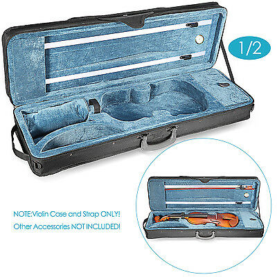 Neewer 1/2 Size Professional Oblong Shape Violin Carry Hard Case