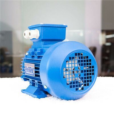 0.75kw 1HP 1400rpm shaft 19mm Electric motor Three-phase 415v