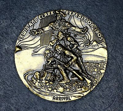 Lewis and Clark Expedition 1805 Arrival Medallion Token