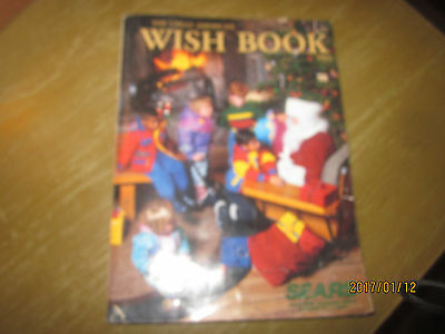 Vintage 1992 Sears Dept. Catalog The Great American Wish Book Toys Gifts More