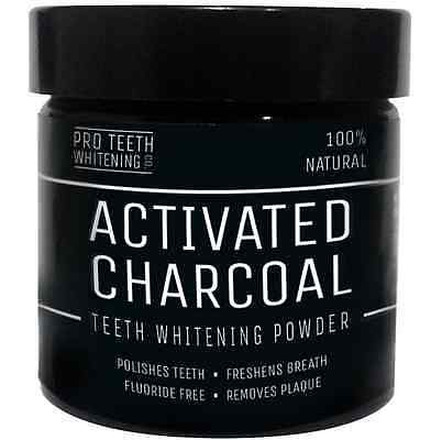 Activated Charcoal Natural Teeth Whitening Powder Toothpaste White Tooth High
