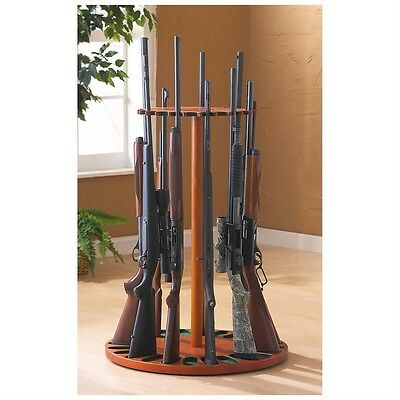 Rotating Magnetic Gun Rack Stand Holder, 24 Gun Capacity