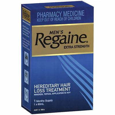 Regaine For Men Extra Strength Topical Solution 1 Month Supply