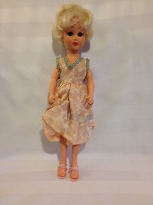 Vintage 1950's Circle P Glamour Doll Miss Coty Type