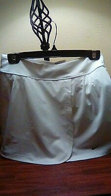 Attention! Girls Tennis Skirt Made With Shorts XL Beautiful White Sale Only8.99