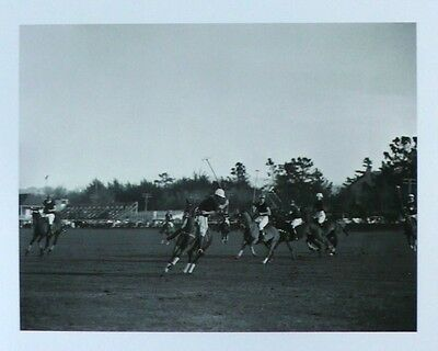 High-Goal Polo Action Photographic Print Pebble Beach Heritage Collection