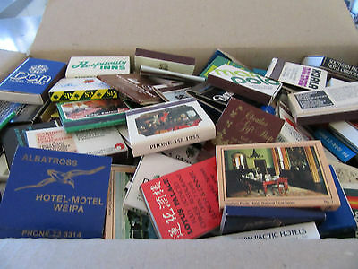 Collectible Matchboxes from Australia & around the world! 210 in total!