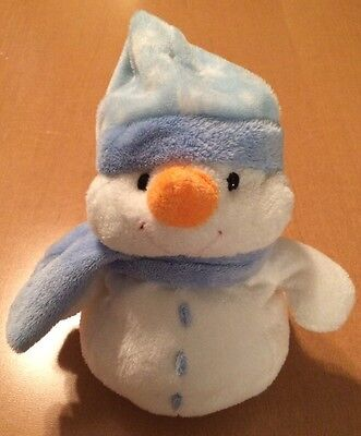 Ty Pluffies Snowman Named Windchill
