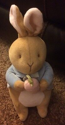 Eden Beatrix Potter Peter rabbit with Carrot 8""