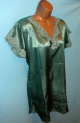 Green Lace Nightgown/Slip sz.P/S/M/L Victoria's Secret