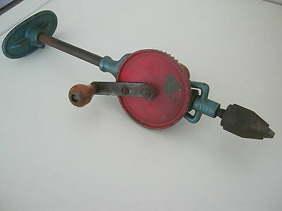 Vintage Breast Hand Drill - Made In Germany - Tradesman Brand