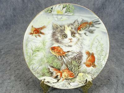"Royal Worcester ""Fishful Thinking"" Collectors Plate"