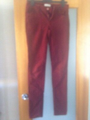Country road Women's Corduroy Jeans Size 6, Rust Colour