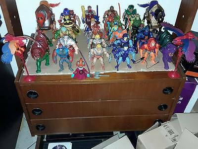 MOTU Masters of the Universe lotto 1981-1983 He-Man Mattel Action Figures