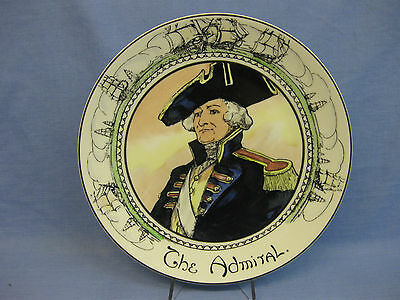"""Royal Doulton 'The Admiral' Series Ware Plate TC1045 ~ Professionals ~ 10 1/2"""""""