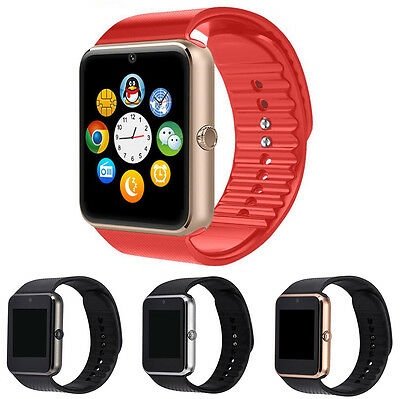 GT08 Smart Watch Bluetooth Inteligente SIM Reloj Música Llamada Para Android IOS