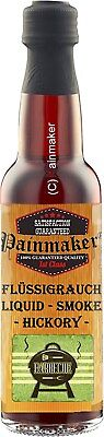 (100ml €7,98)  Painmaker`s Liquid Smoke HICKORY 100ml