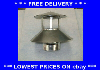 Roof cowl +integral weather skirt, chimney flue liner, ducting, flexible, stove