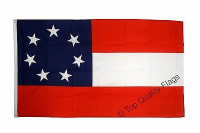 USA Southern United States Stars and Bars 1861 FLAG confederate, csa Banner 90x1