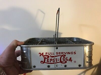 1940's Pepsi Cola 12 Pack Carrier 24 Servings