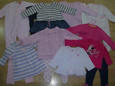 NEXT M&S TU M&CO  etc Girls Winter Bundle Outfits Tops Dress Tights Age 3-6m