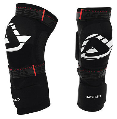 Acerbis 2.0 Soft Knee Guards Pads Youth Kids Junior Motocross Mx Cheap Mtb Bmx
