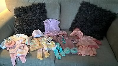 Baby Annabell Doll clothes bundle,  outfits Coat , Cardigans Hats Tights