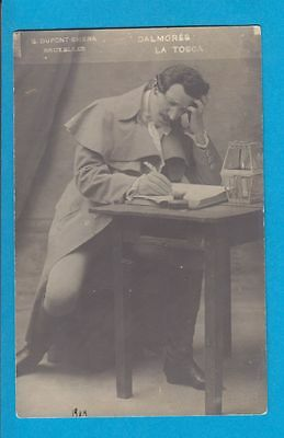 Opera: CHARLES DALMORES  original vintage photo-postcard