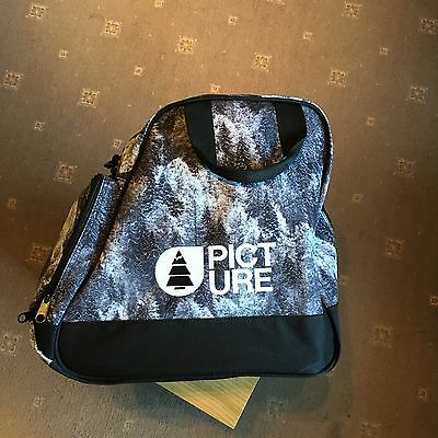 Picture Ski Boot Bag - Forest