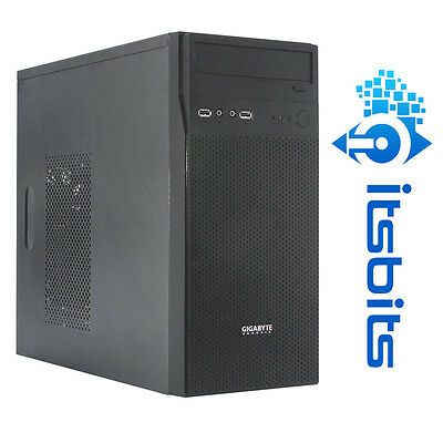 Gigabyte Gz-M5 Mini / Midi Atx Black Case Usb 3.0 + Hd Sound On Front Panel New