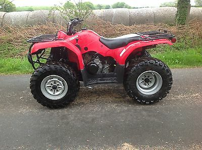 Yamaha Grizzly 350 farm quad Agri-registered '09'