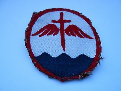 2ww  printed cloth formation sign unit patch of the Indian beach groups