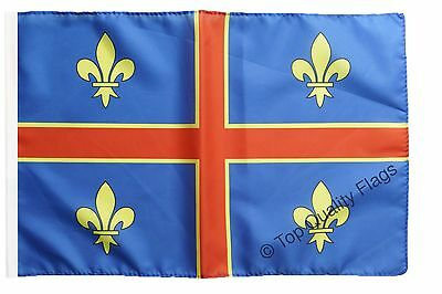 """France Clermont-Ferrand Banner 30x45cm – 18""""x12"""" Small Flag"""