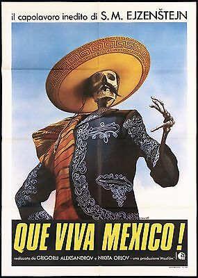 ¡que Viva Mexico! Manifesto Cinema Film Sergej M. Ejzenstejn Movie Poster 2F