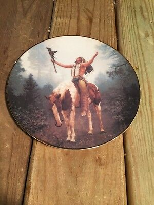 The Hamilton Collection Mystic Warriors Plate Collection  Deliverance
