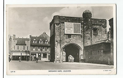 Leicestershire Leicester Newarke Gate Real Photo Vintage Postcard 11.01