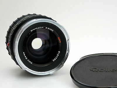 Carl Zeiss PQ Objektiv Distagon 3,5/60 HFT #8151752 for Rollei Rolleiflex  sm061